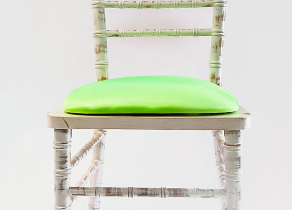 Spandex Seat Pad Covers - Lime