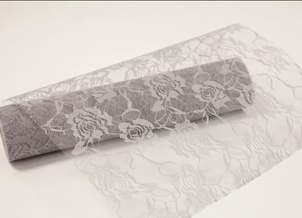 Decor Essential Lace Roll - Silver