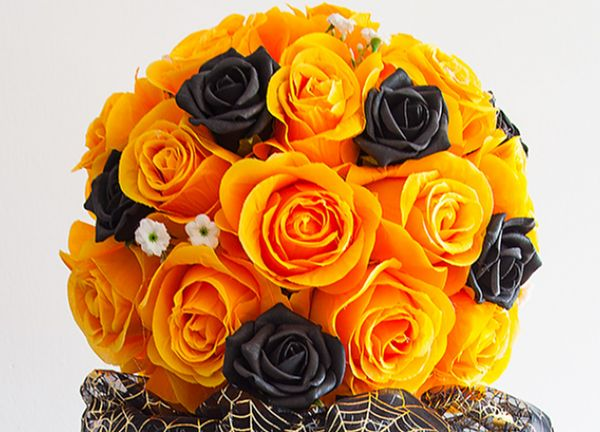 Orange Kissing Ball 30CM