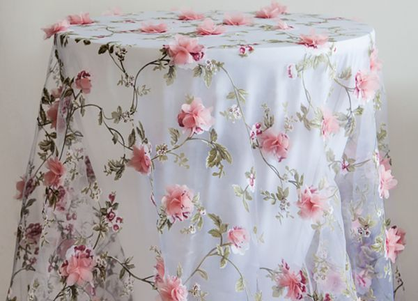 Blossom Table Overlay - Pink