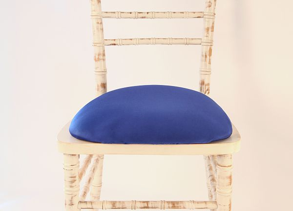 Spandex Seat Pad Covers - Royal