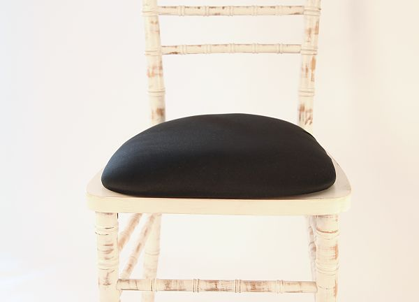 Spandex Seat Pad Covers - Black