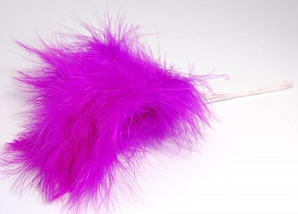 Fluff Feathers - Plum