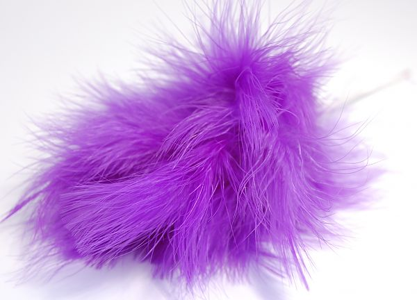 Fluff Feathers - Purple