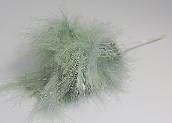Fluff Feathers - Sage