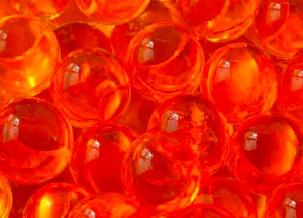 Water Pearls 100g 12mm - Orange