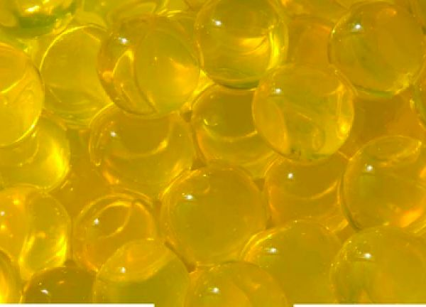 Water Pearls 100g 12mm - Yellow