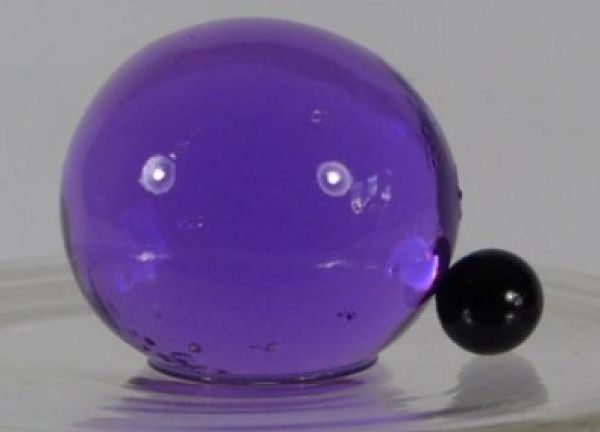 Large Water Pearls 60mm - Purple