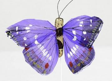 07 Pattern Butterflies - Purple