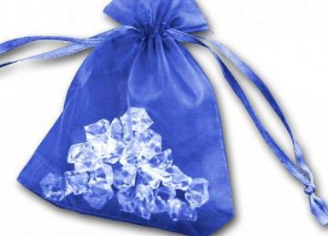 Essential Organza Favour Bags - Royal Blue