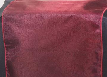 Organza Table Runners - Garnet