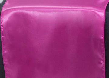Satin Table Runner - Hot Pink