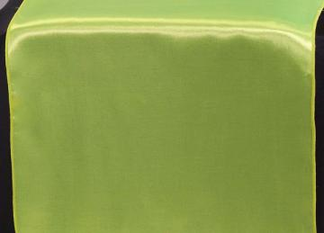 Satin Table Runners - Lime