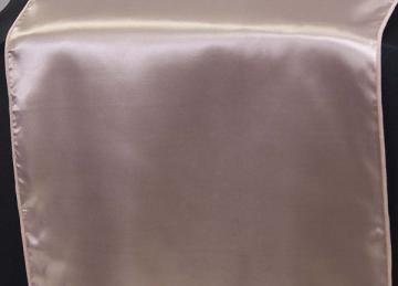 Satin Table Runners - Peach