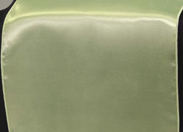 Satin Table Runners - Sage