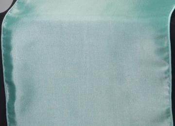 Taffeta Table Runner - Aqua