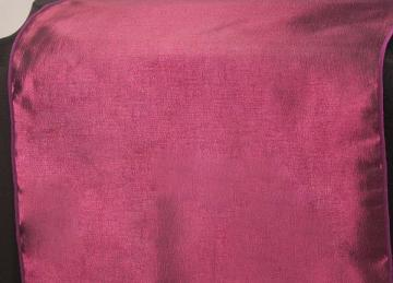 Taffeta Table Runner - Burgundy