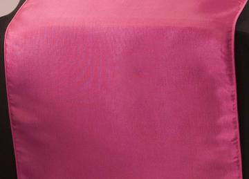 Taffeta Table Runner - Hot Pink