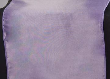 Taffeta Table Runner - Lilac