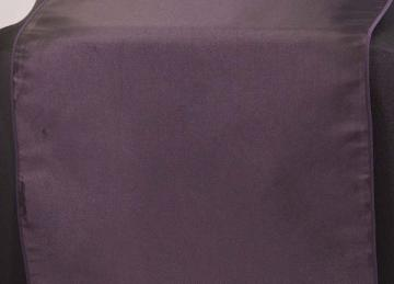 Taffeta Table Runner - Plum