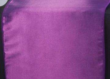 Taffeta Table Runner - Purple