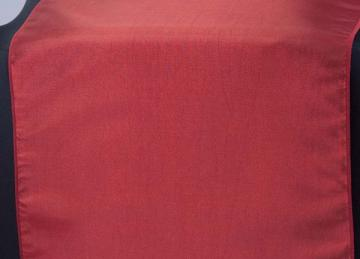Taffeta Table Runner - Red
