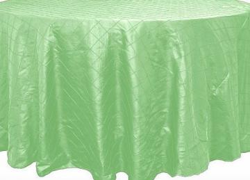 Pin Tuck Table Cloths - Sage