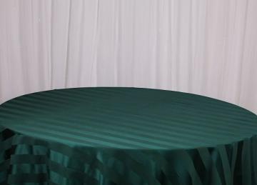 Striped Table Cloths - Green