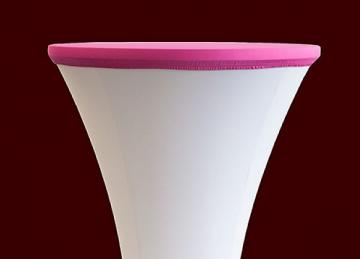 Lycra Cocktail Table toppers Size A - Fuschia