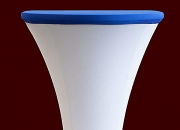 Lycra Cocktail Table toppers Size A - Royal Blue