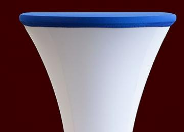 Lycra Cocktail Table toppers Size B - Royal Blue