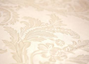 Damask Table Cloths 90 x 90 - Ivory