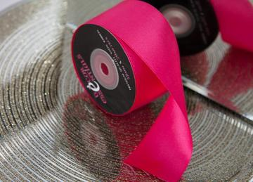 Decor Essential Satin Ribbon 38mm x 20m - Cerise