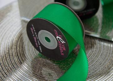 Decor Essential Satin Ribbon 38mm x 20m -Kelly Green