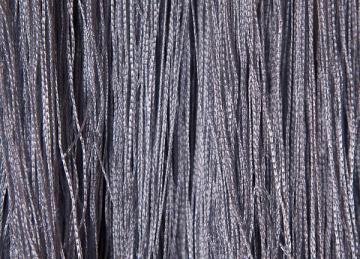 Fringe Curtains - Silver