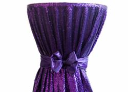 Sequin 120 Table Cloth - Purple