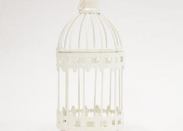 Small Bird Cage Tea Light Holder