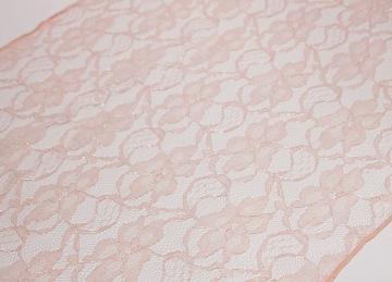 Lace Runner - Blush Pink