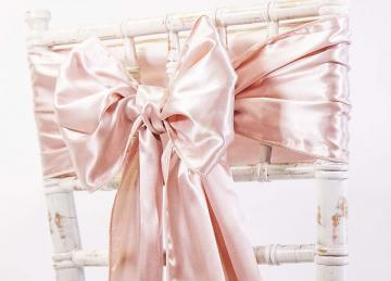 Satin Sash - Rose Gold