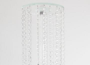 Glass Crystal Waterfall Centrepiece
