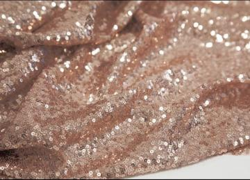Sequin Fabric - Blush Pink