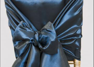 Taffeta Chair Hood - Navy