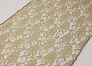 Lace Runner - Antique Gold