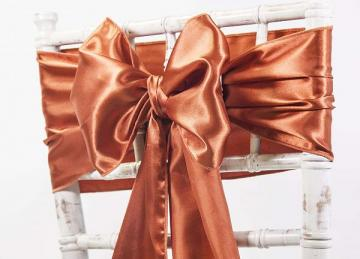 Satin Sash - Bronze