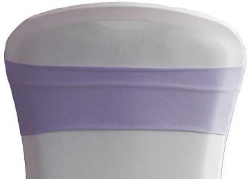 Lycra Chair Bands - Lilac