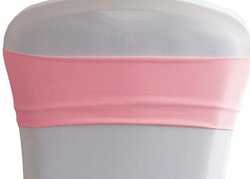 Lycra Chair Bands - Pink