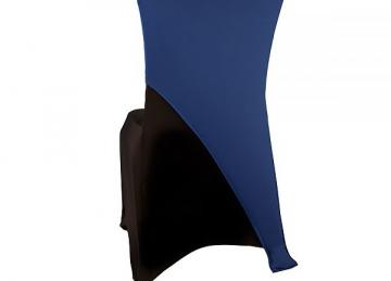 Spandex Lycra Chair Cap Angled - Royal Blue