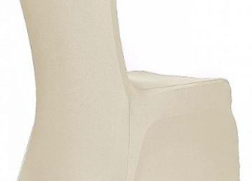 Spandex Poly Lycra Chair Covers Grade A - Ivory