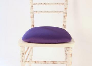 Spandex Seat Pad Covers - Purple