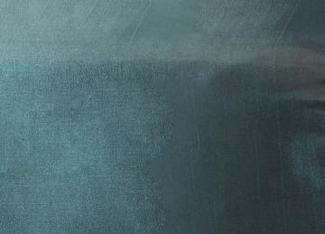 Taffeta Fabric - Teal/Brown